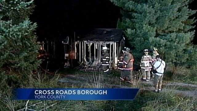 Cross Roads fire