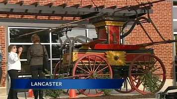 A reception was thrown in Lancaster on Thursday to celebrate a piece of the city's history.