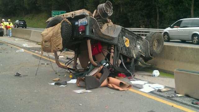 I-83 crash