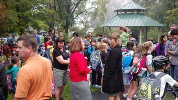 Hundreds of students across the Susquehanna Valley took part Wednesday in Walk to School Day.