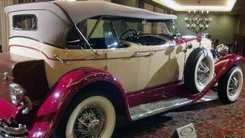 This is a 1931 Dusenberg Model J. It's estimated value is between $1.2 and $1.5 million.