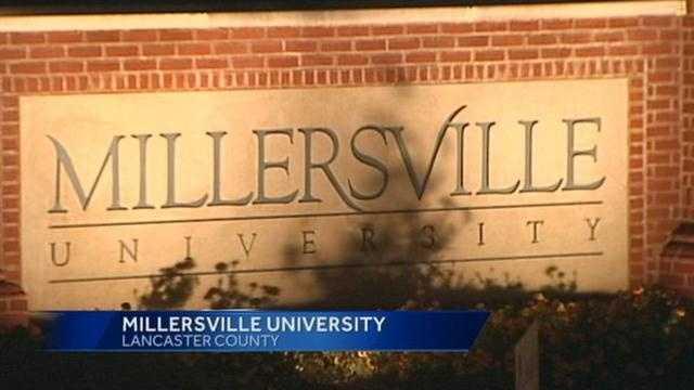 Millersville University sign