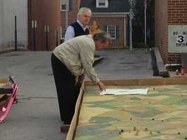 Officials said they hope the map will attract people to downtown Hanover.
