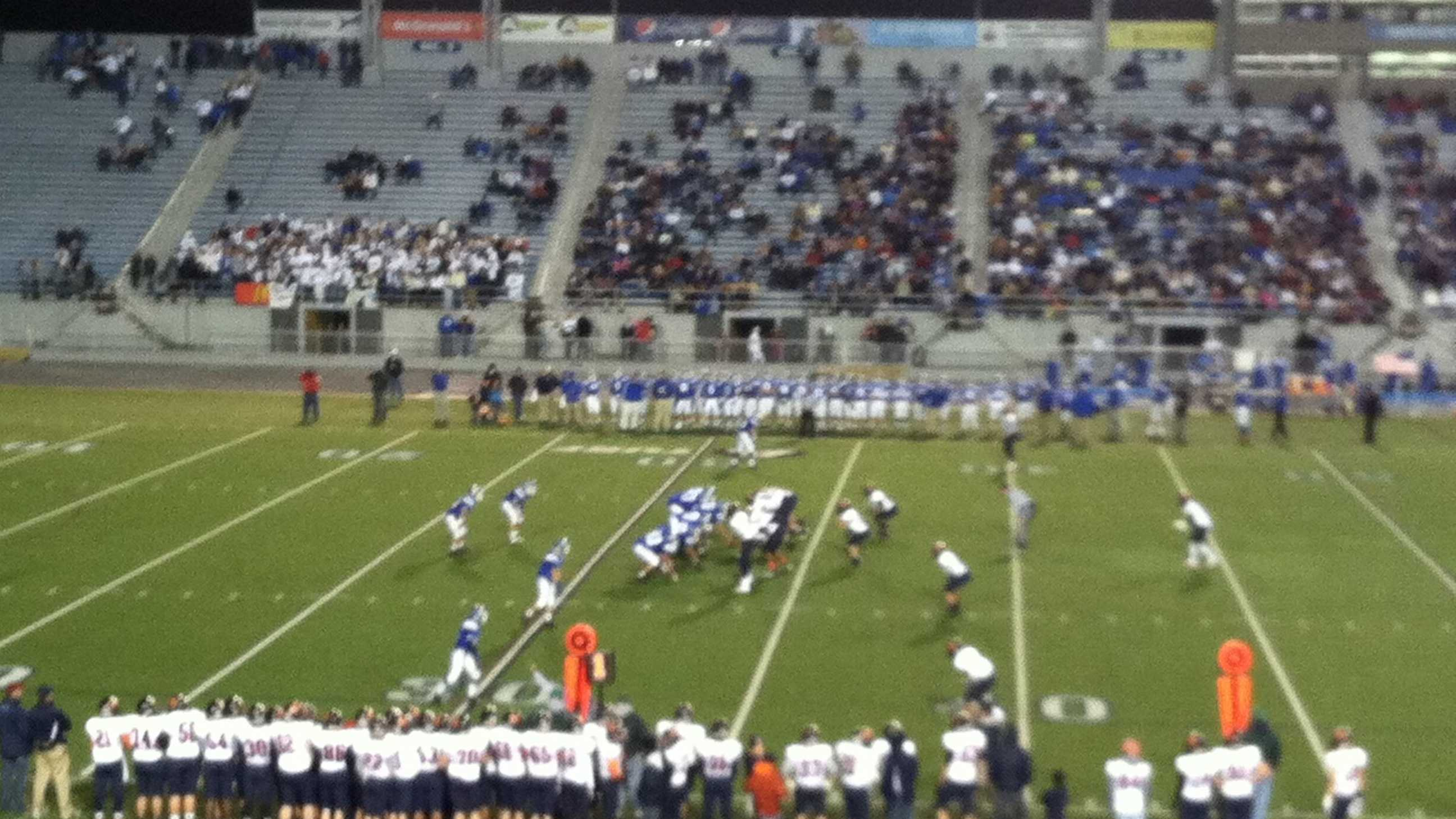Hershey and Lower Dauphin squared off Friday night.