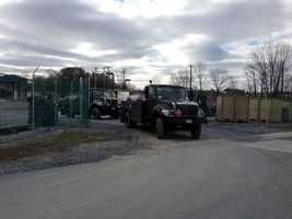 The Pa. Air National Guard is sending nine fuel trucks to hard hit areas of New Jersey and New York.