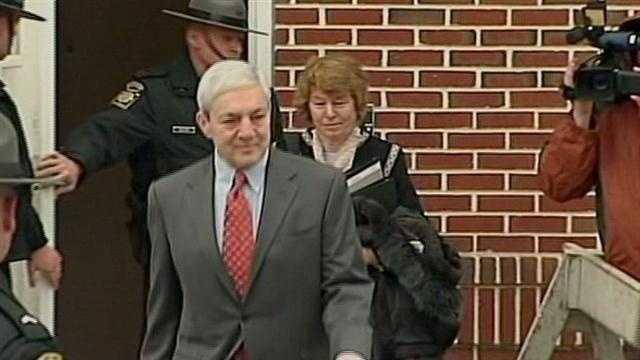 Graham Spanier in court