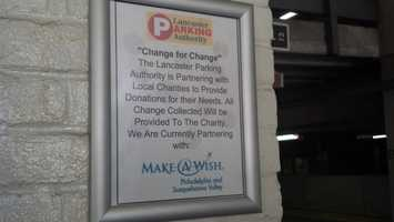 The first charity to benefit from the collection is the Make-A-Wish chapter of Philadelphia and the Susquehanna Valley.