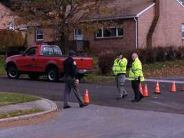 After an hour-and-20-minute standoff, the man surrendered peacefully.
