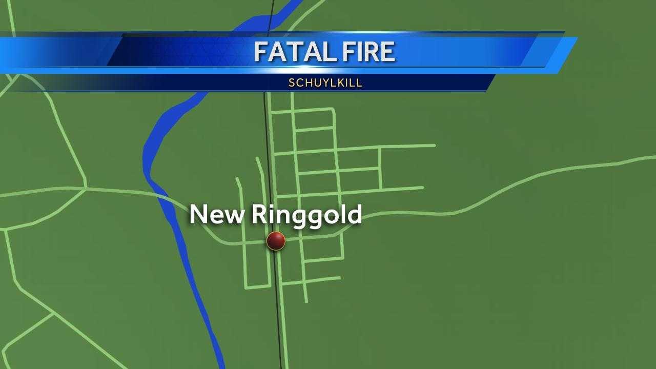 Schuylkill fatal fire map