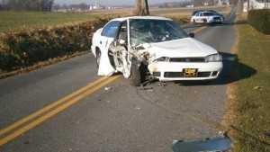 Juvenile DUI crash