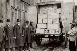 Eventually food laws led to the creation of an agency to oversee them – the FDA, which formed in 1930. The photo above shows FDA inspectors seizing a shipment of contaminated eggs.