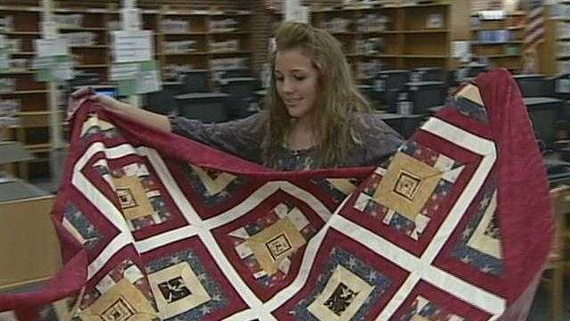 QUILTS FOR TROOPS