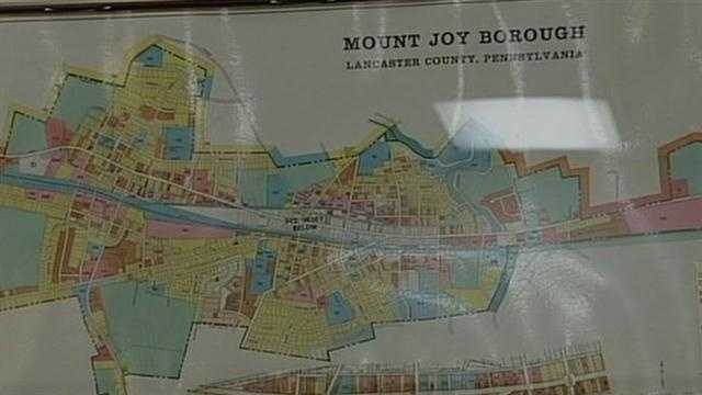 Mount Joy map