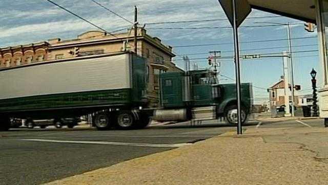 Shippensburg truck traffic