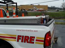 The fire broke out just before 8 a.m. at Flight Systems Inc. along Fishing Creek Road in Fairfiew Township. No injuries were reported.
