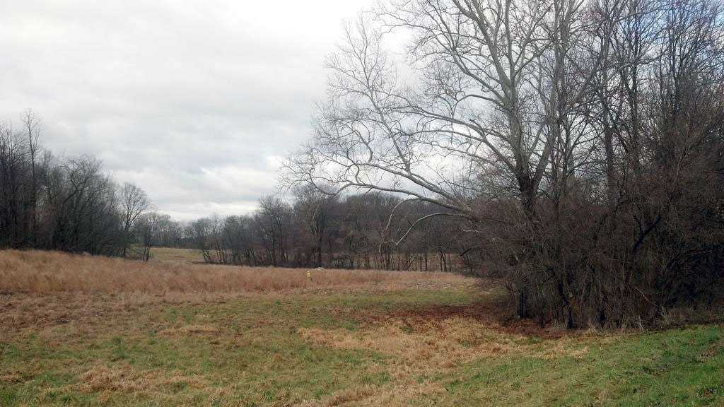 John Kilheffer's body was found in this fieldabout three quarters of a mile from his home.