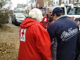 The American Red Cross is assisting the residents.