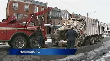 City officials recommend drivers use North 3rd Street as an alternate.
