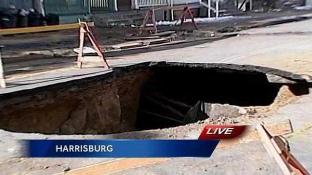 Harrisburg sinkholes