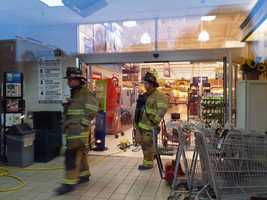 The state Health Department will determine when the store can reopen.