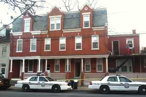 Police checked on a man Monday morning in an apartment in the 200 block of West Walnut Street and found a body.