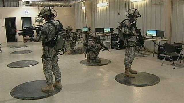 Fort Indiantown Gap training