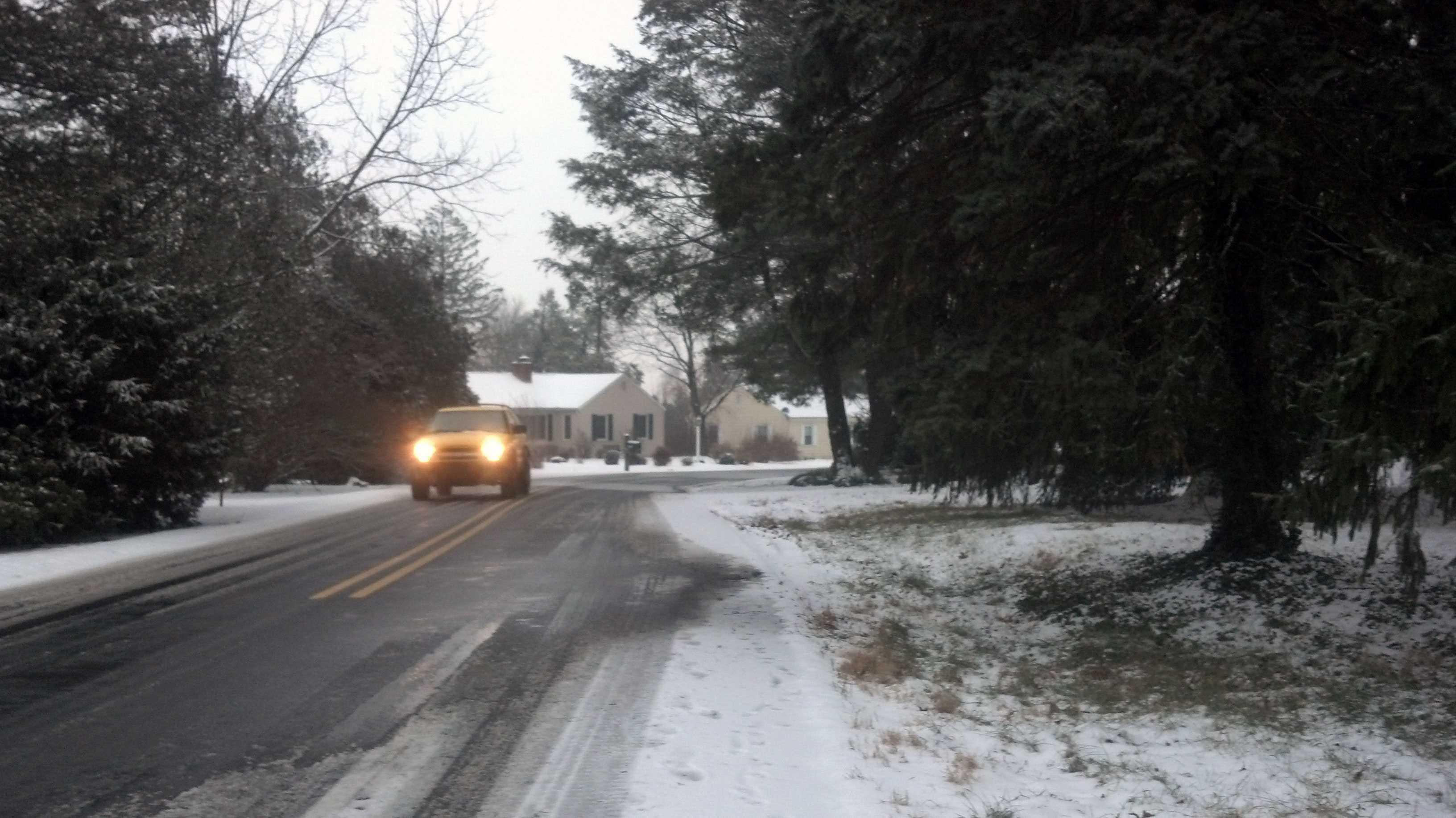 Manheim Township on Monday morning