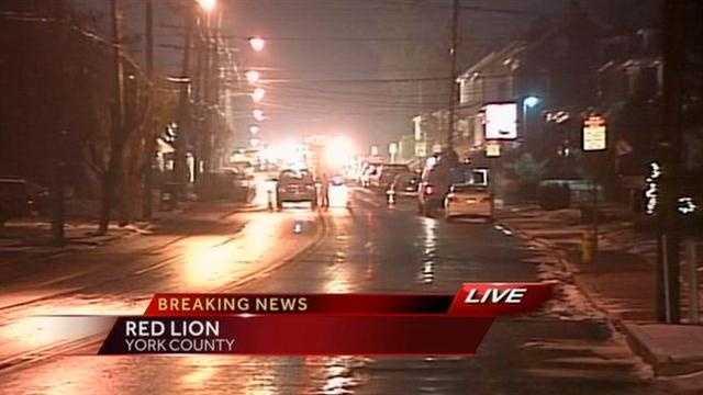 Red lion gas leak photo