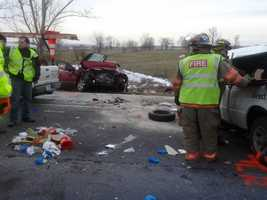 Stimmel was killed in the crash and pronounced dead at the scene. Smith was taken to Lancaster General Hospital.