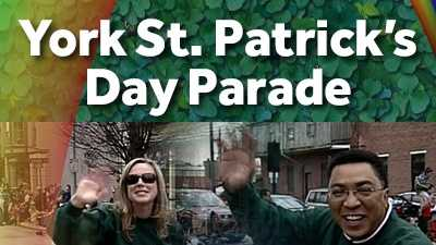 Come join WGAL 8 on the square, before the parade...and line the route to wave to the News 8 Team as we ride in the parade throughout York!