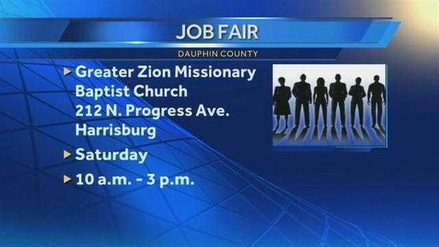 Dauphin County job fair