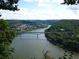 In the case of the Allegheny, as with other rivers on the Wild and Scenic list, only portions of the river are designated as Wild and Scenic. This shot was taken at Harrison Hills Park, which is outside of Pittsburgh.