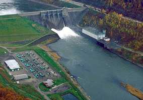 For the Allegheny, 87 miles have been designated as Wild and Scenic. One stretch runs from Kinzua Dam downstream to the U.S. Route 62 Bridge.