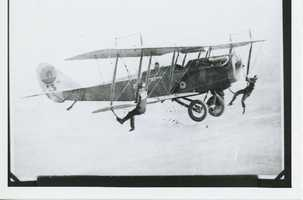 So the '20s truly were the Golden Age of barnstorming. The advent of flight, coupled with economic opportunity fueled its rise.