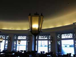 The former Circular Dining Room at Hotel Hershey has been closed since New Year's Day for remodeling.