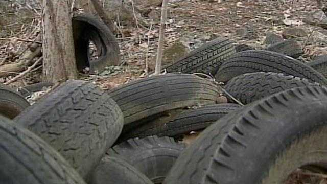 York County tire recycling
