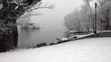 Columbia, Lancaster County along Susquehanna River