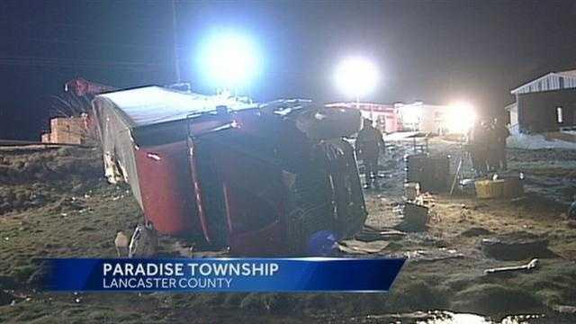4.4 Route 741 truck crash