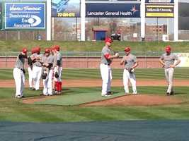 The team's home opener is April 18 at Clipper Magazine Stadium.