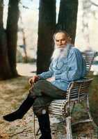 """If you want to be happy, be."" Leo Tolstoy - writer"