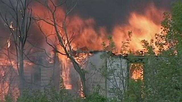 On April 24, a fire destroyed a vacant caretaker's homeat 1253 New Holland Pike in Manheim Township.
