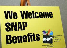 The maximum amount a single person receiving food stamps would get is $200 a month.