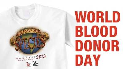 Be A Life Saver!  Give Blood Today!