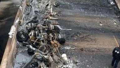 5.9 truck fire