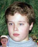 Sean Kristian Morrow went missing at the age of 3 in Ridley Park, Pa. The date was Oct. 28, 2002. The child's photo was taken in December 2010, after he went missing. The inset photo was taken when the child was 9. Sean was allegedly abducted by his mother, Svetlana Stepnaya.