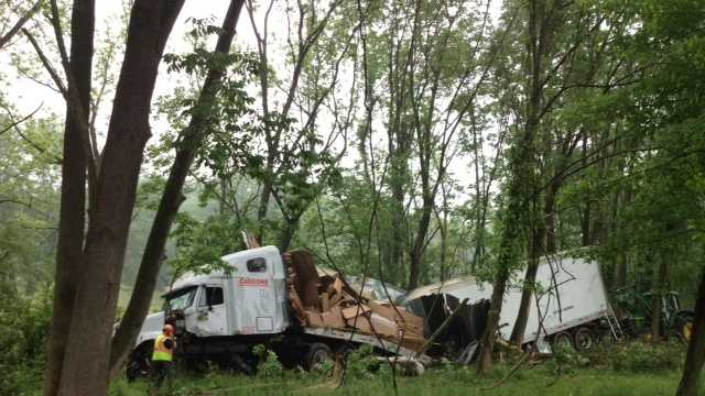 5.29 truck crash