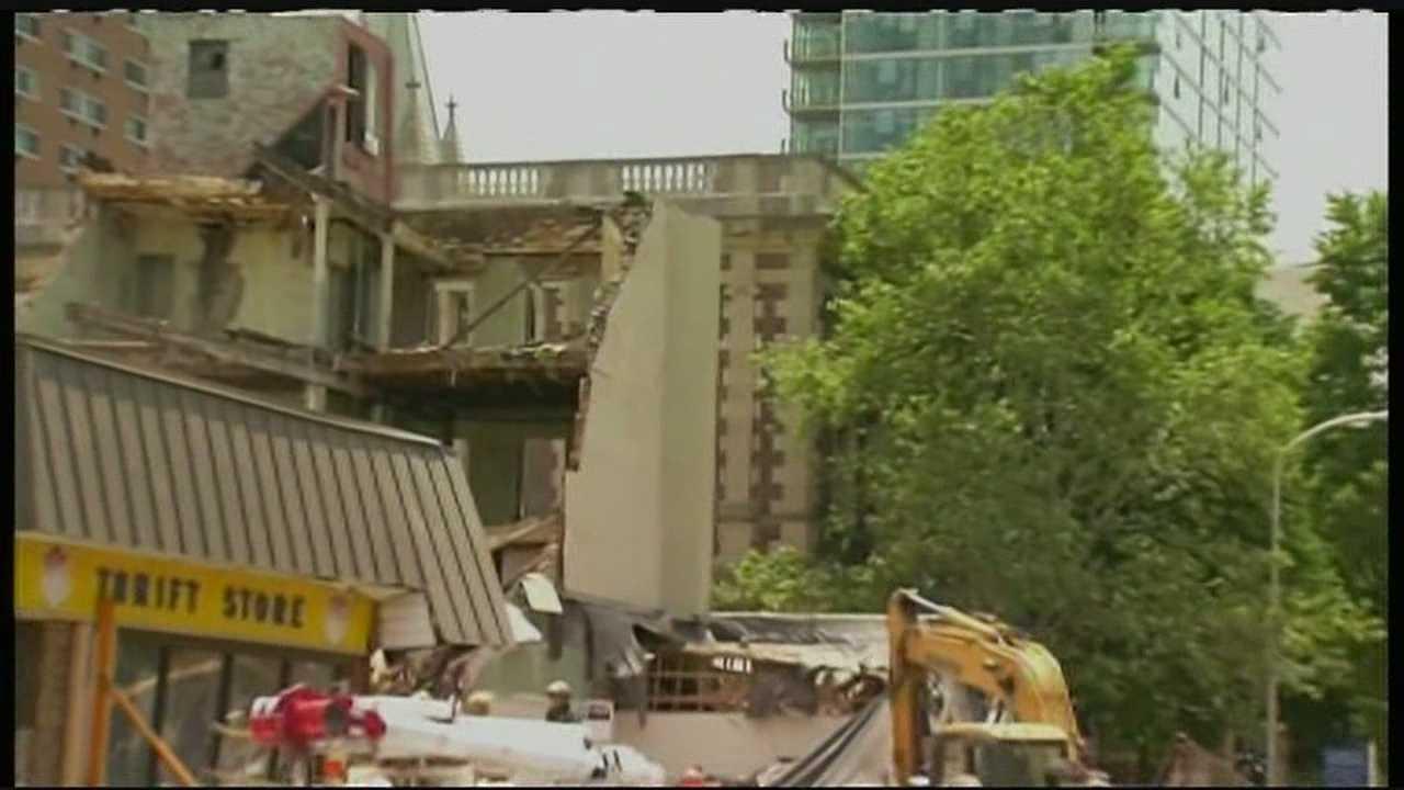 6.5.13 philadelphia building collapse