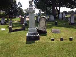 Prominent 19th century residents of the Hanover area are among the 15,000 people buried in the cemetery.