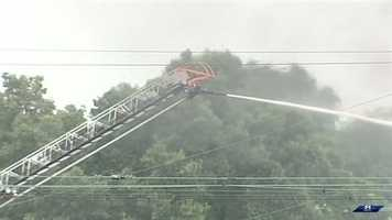 Emergency officials at the scene said the thousands of gallons of butane were feeding the flames. They compared it to a lighter that would continue to burn until the fuel depleted.