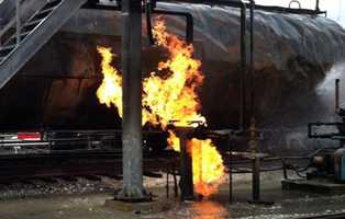 Investigators are trying to learn more about the butane fire that started Tuesday morning at a Rapho Township rail yard and burned for 23 hours.